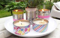 Zelfmaken en #recyclen: sfeervolle kaarsen in blik