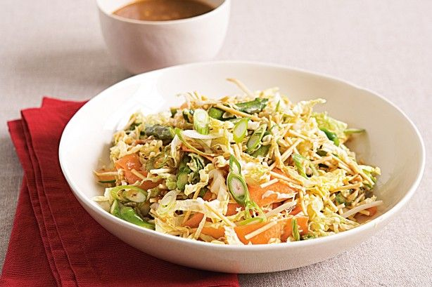 This crunchy salad makes a fantastic accompaniment to pork cutlets or fried tofu.