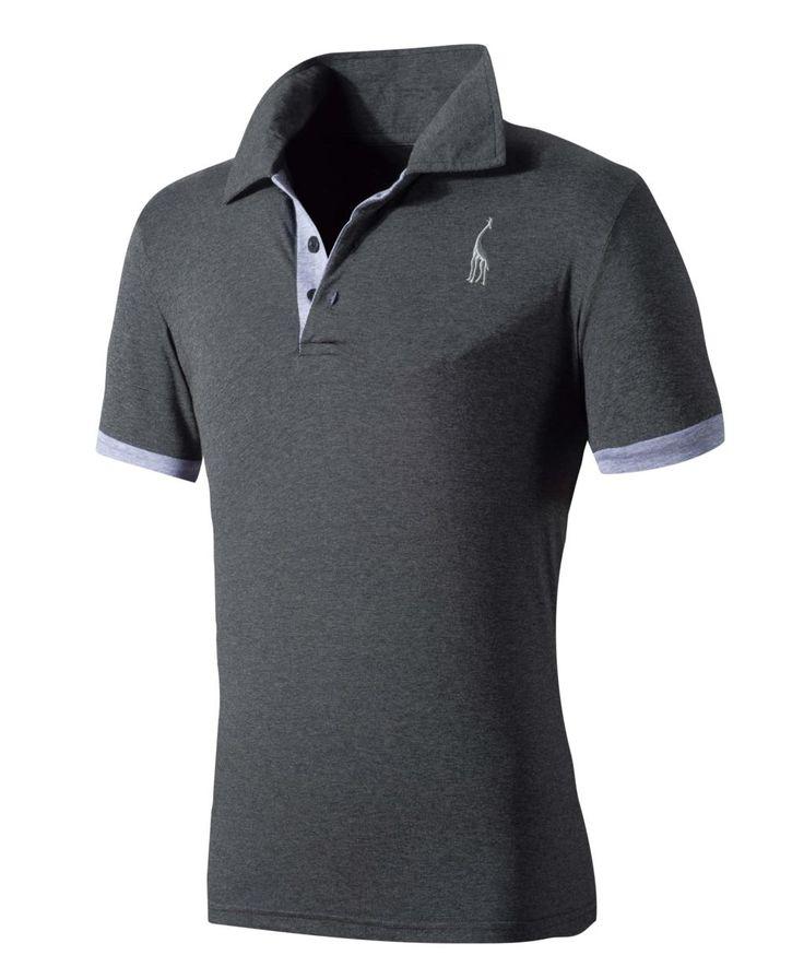 Nuevo 2017 summer fashion tops tees ropa de marca de manga corta polo camisa de los hombres slim fit hombres camisas de algodón ocasional homme