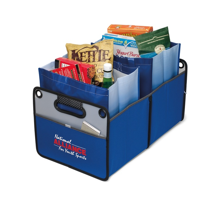 This cargo box will help you organize groceries, tailgating supplies, sports equipment and more. It's also collapsible, making for easy storage in the trunk.