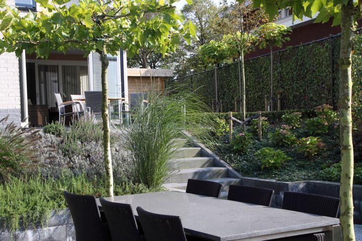tuin met hoogteverschil - Google zoeken