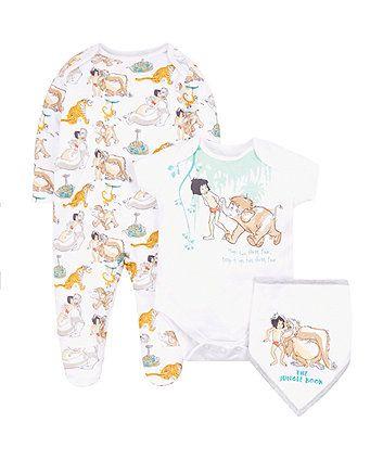 Disney Jungle Book Three Piece Set Disney Disney Baby Clothes