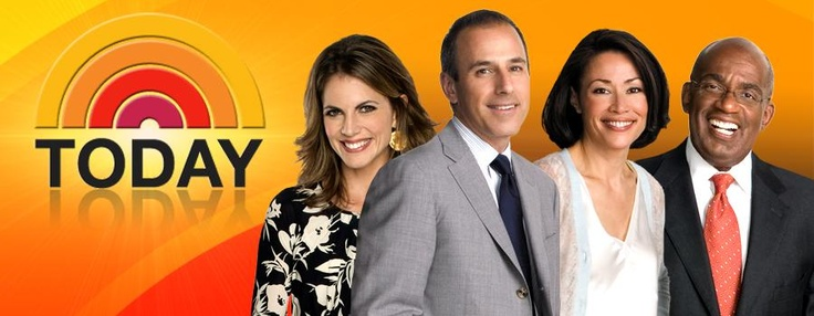 Today Show - One day, I'm going to be on the Today Show, as a guest (for something good/ a good reason).