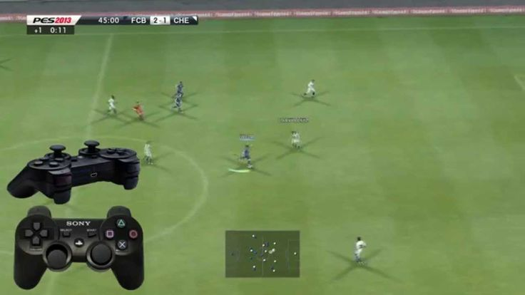 """PES 2013 """"Strong shot"""" and """"Low chip shot"""" Tutorial HD (the best Guide)"""