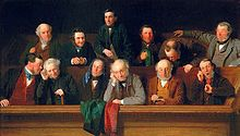 Jury - The Jury an 1861 painting of a British jury