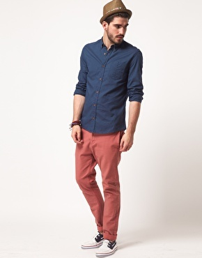#ASOS | ASOS #Oxford #Shirt    i need some boat shoes ;s
