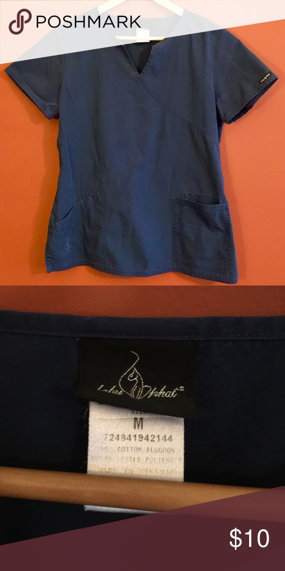 Baby Phat Scrub Top Navy blue scrub top! Feel free to ask questions or make an offer and as always, Thank YOU for shopping my posh closet! XoXo -Tish- Baby Phat Tops