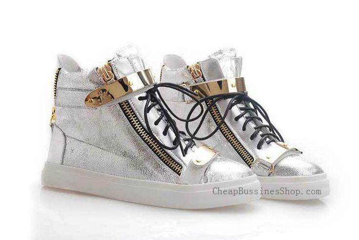 Giuseppe Zanotti Silver Leather Metallic Strap Sneaker Sale Online web site:http://www.cheapbussinesshop.com/giuseppe-zanotti-silver-leather-metallic-strap-sneaker-sale-online-p-2295.html