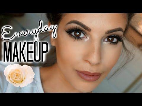 Everyday Drugstore Makeup Tutorial 2015 - YouTube