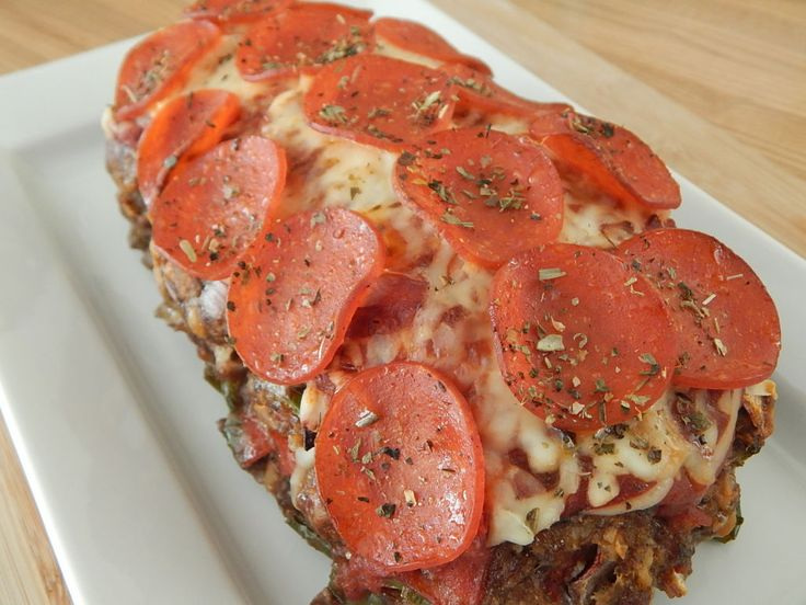 Pizza Meatloaf - Drizzle Me Skinny - 4 WW Smart Points