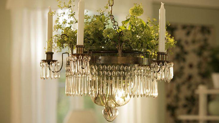 Så gör du Ernsts kristallkrona - Sommar med Ernst - tv4.se   How to make Ernst's chandelier with flower bowl