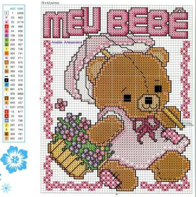 249 Best Images About Bear Cross Stitch On Pinterest