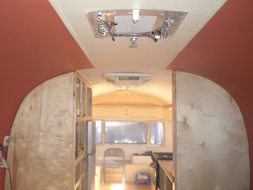 1976 Airstream Sovereign Remodel Airstreamer Pinterest
