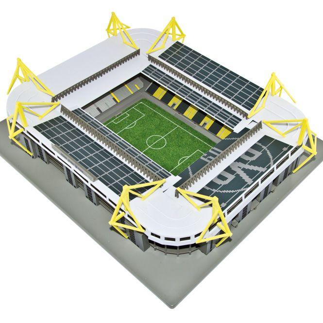signal iduna park modellbausatz von meine arena masse