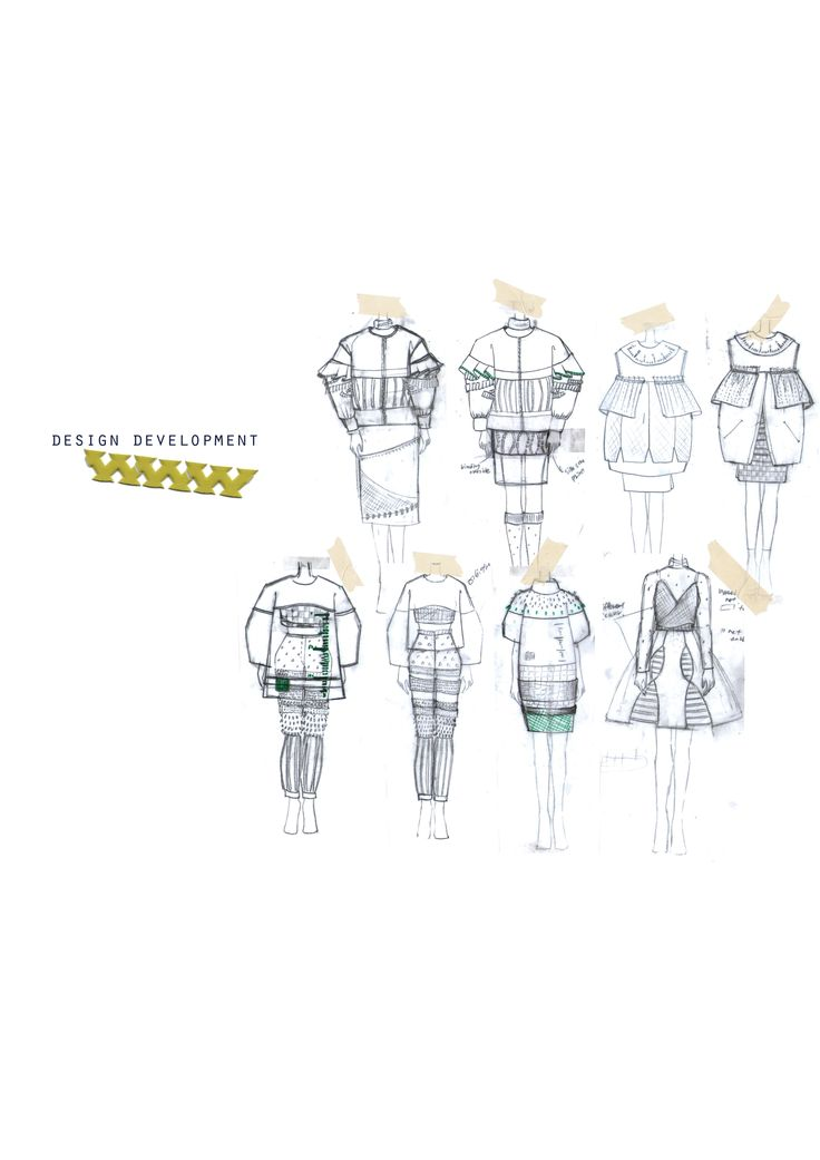 Fashion Sketchbook - fashion design sketches; fashion portfolio // Yeni Yeeun Park