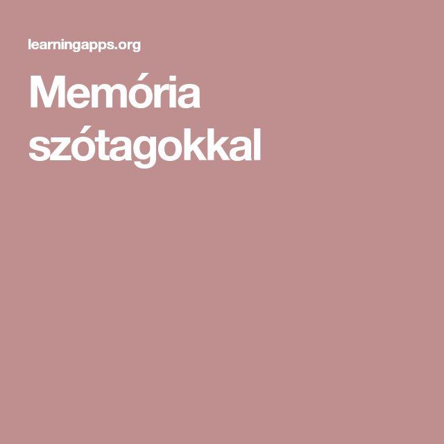 Memória szótagokkal