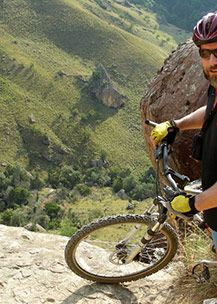 Mountain Biking -- Drakensberg -- Three Tree Hills -- Spioenkop