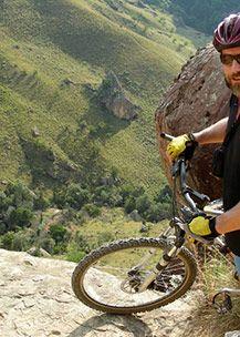 Mountain Biking -- Drakensberg -- Three Tree Hills -- Spioenkop
