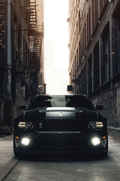 Shelby GT500 Creepin' Wide