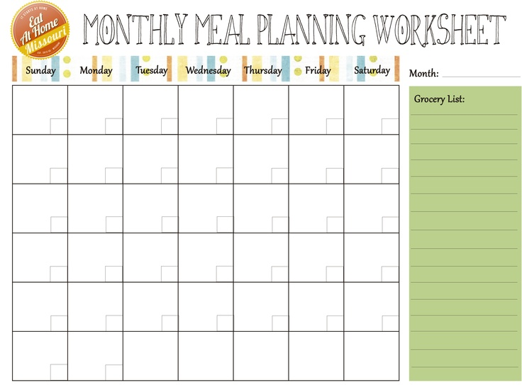pinterest planners meal planner and monthly meal planner