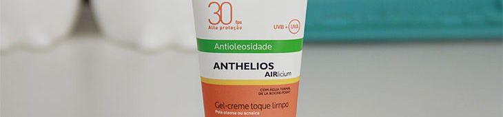 Protetor solar facial antioleosidade Anthelios Airlicium FPS30 La Roche-Posay