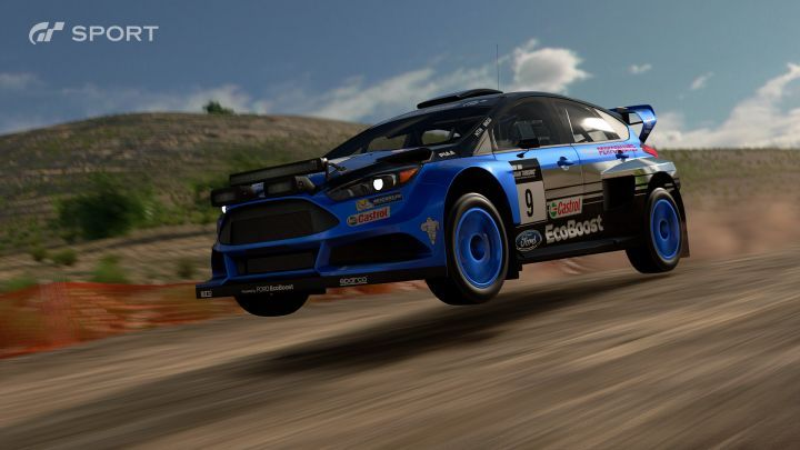 Ford Focus Gr. B Rally Car MkIII