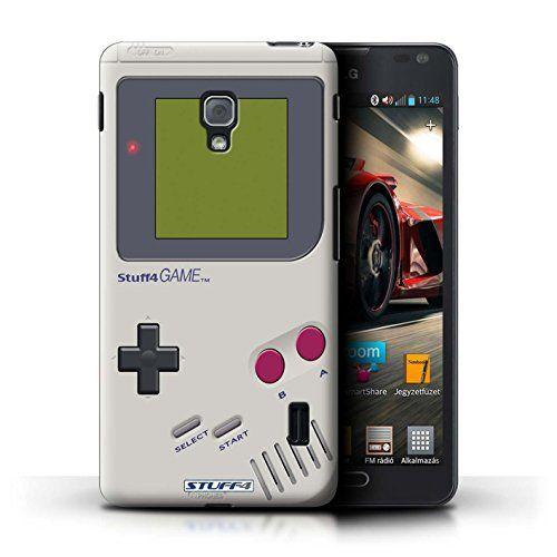STUFF4 Phone Case / Cover for LG Optimus F6 / Nintendo Game Boy Design / Games Console Collection