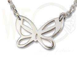 Srebrny naszyjnik/ Necklase made from silver / 49 PLN #jewellery #jewelry #silver #necklase #wisiorek #bizuteria #srebro