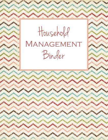 10 best images about household binder on pinterest for Home planning binder