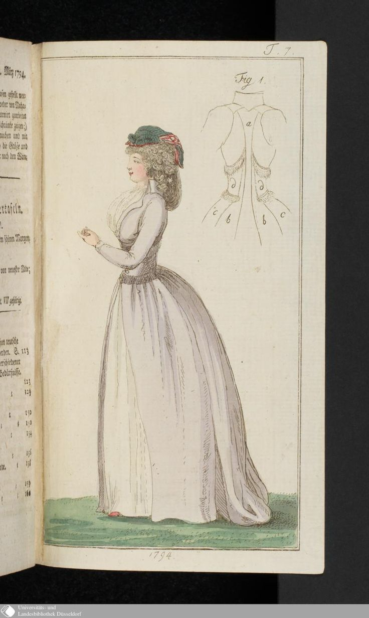 Journal des Luxus und der Moden: Marz, 1794.