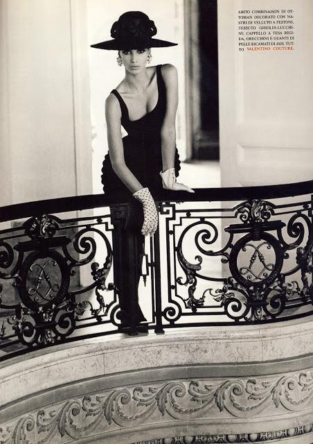 Кристи терлингтон для Vogue