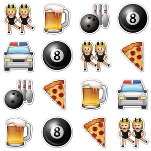Night Out Emojis, $16, by Emoji Stickers !!