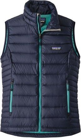 Patagonia Women's Down Sweater Vest Navy Blue/Strait Blue XS