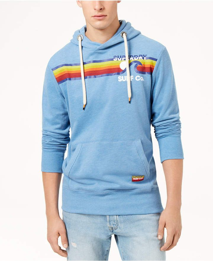 7532886b8e38 Superdry Men's Surf Co. Striped Hoodie | Products | Superdry mens ...