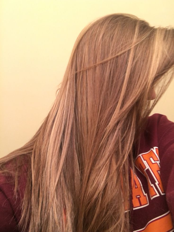 lovin my butterscotch dark blonde colored hair