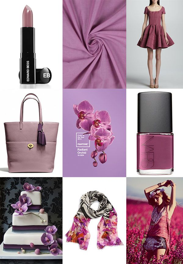 Color of 2014: Radiant Orchid