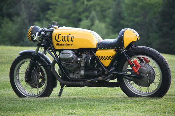 Rare SportBikes For Sale » Blog Archive » 1975 Moto Guzzi 850T Custom Cafe Racer