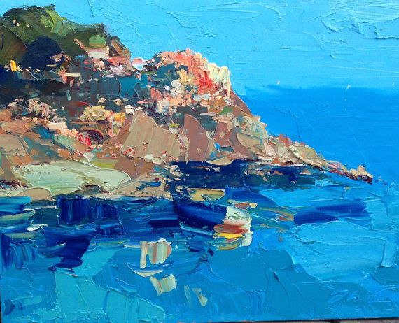 Manarola Cinque Terre by Agostino Veroni. Fond memories here from long ago. Gorgeous.