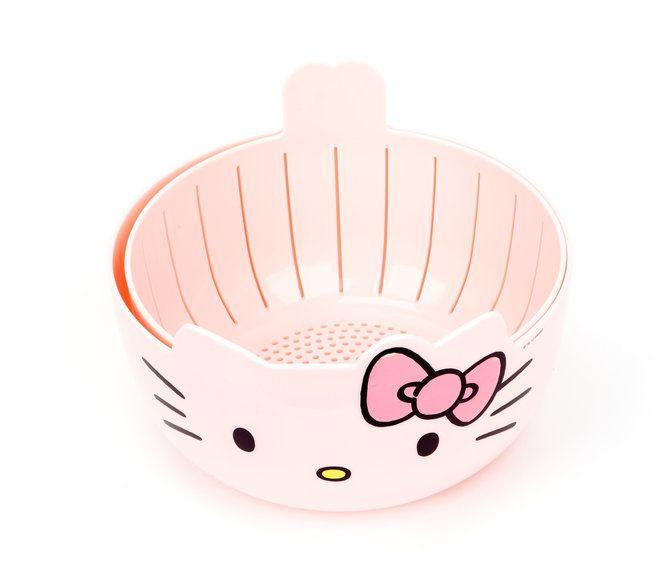 Hello Kitty Bowl & Colander Set