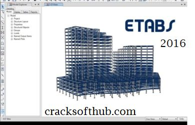 ETABS 2016 Crack is best and most useable software which is used for analysis and buildings structure design.