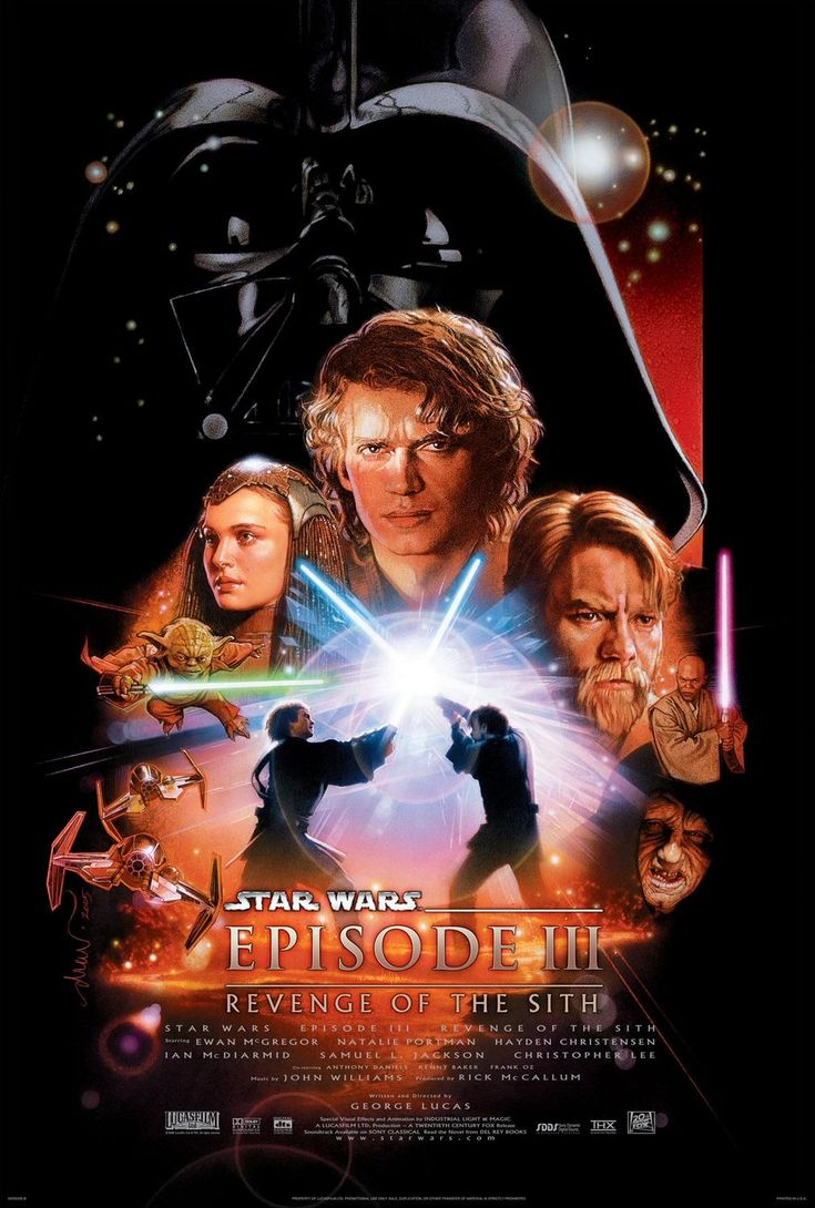 Star Wars - Revenge of the Sith. My favorite of all times.