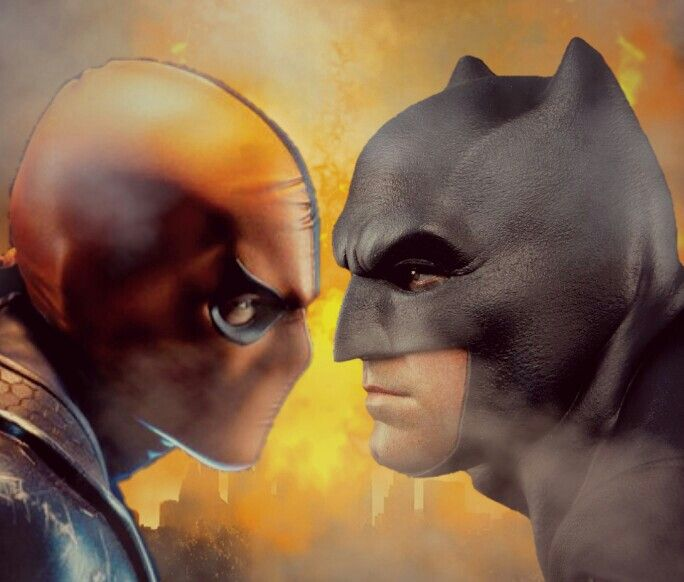 Batman vs Deathstroke ?