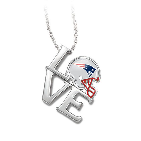 I Love My New England Patriots Pendant