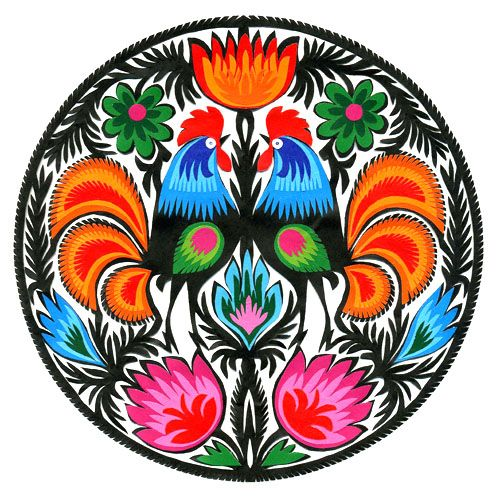 Wycinanki Polish paper cutting art