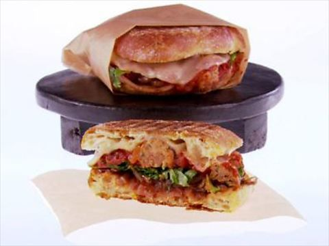 Giada's Meatball Panini Video : Food Network - FoodNetwork.com
