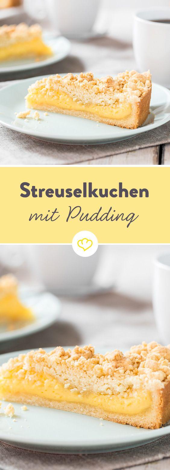 Ein buttriger Mürbeteig unten, knusprige Streusel oben und dazwischen ein herrlich cremiger Vanillepudding - so hat Oma den Klassiker früher schon gemacht.
