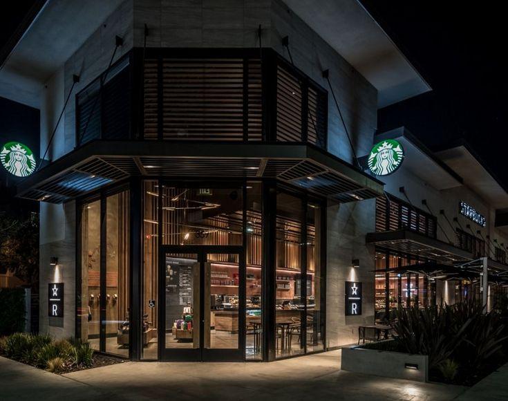 Los angeles starbucks store spotlights reserve coffee