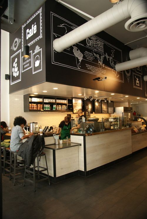 Interior View. Photo Credit: Starbucks Coffee Company