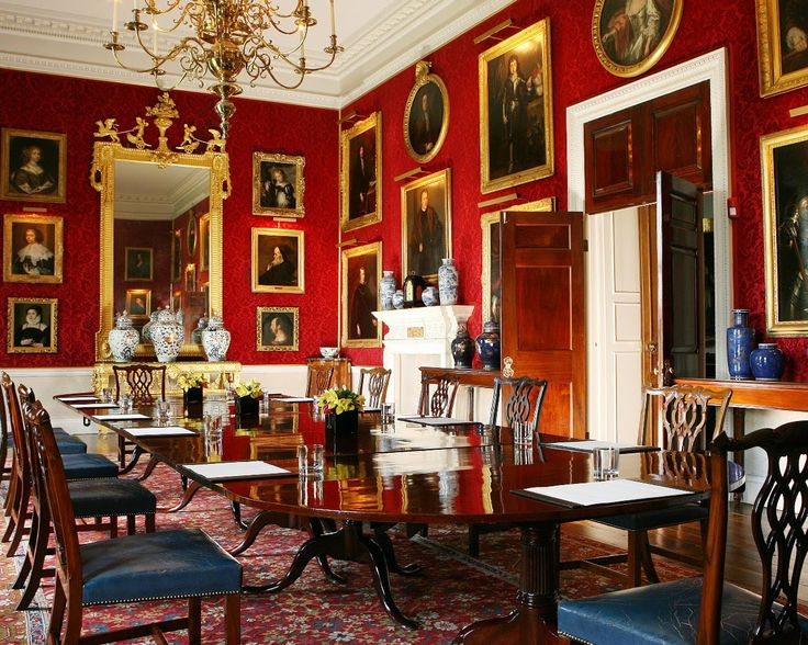 Althorp House, Northamptonshire, England.  Originally a redbrick Tudor building but, starting in 1788, Henry Holland redesigned much of the house.  Is the seat of the Earls Spencer, and was the home of Diana Princess of Wales.