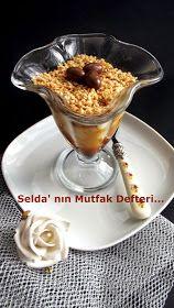Selda' nın Mutfak Defteri...: Tahinli Muhallebi